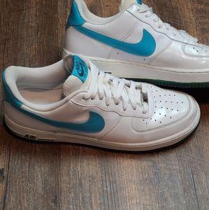 Nike Air Marina Blue Air Force 1's